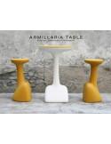 ARMILLARIA table et tabouret design pour terrasse et jardin.