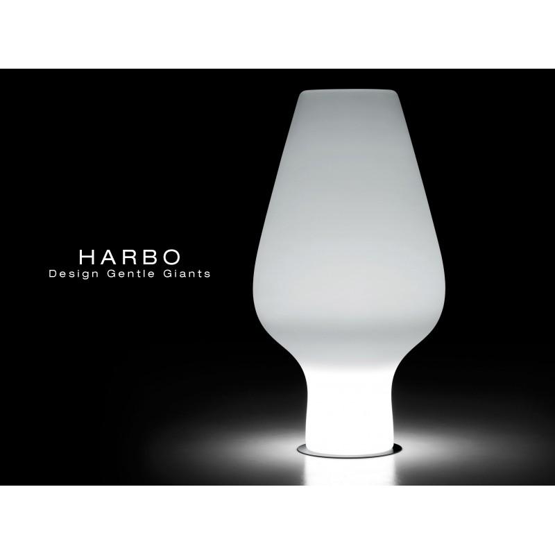 Vase lumineux HARBO pour intérieur et extérieur.