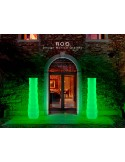Vase lumineux ROO photoluminescent pour intérieur et extérieur.