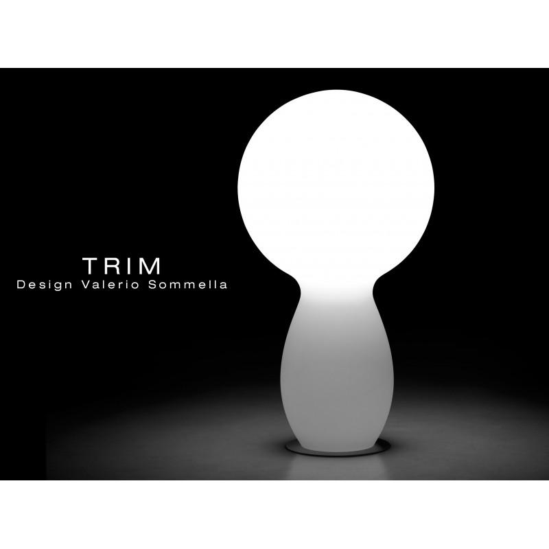 Lampe TRIM pour intérieur et extérieur.