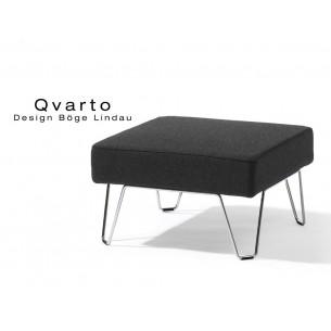 QVARTO canapé tabouret modulable pour salle d'attente, couleur Andaman.