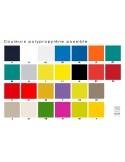 JO fauteuil en polypropylène - gamme des couleurs.