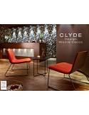 CLYDE petite table d'appoint pour salon ou hall d'entrée.