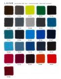 MEG fauteuil design rembourré et capitonné laine, couleurs possible sur commande.