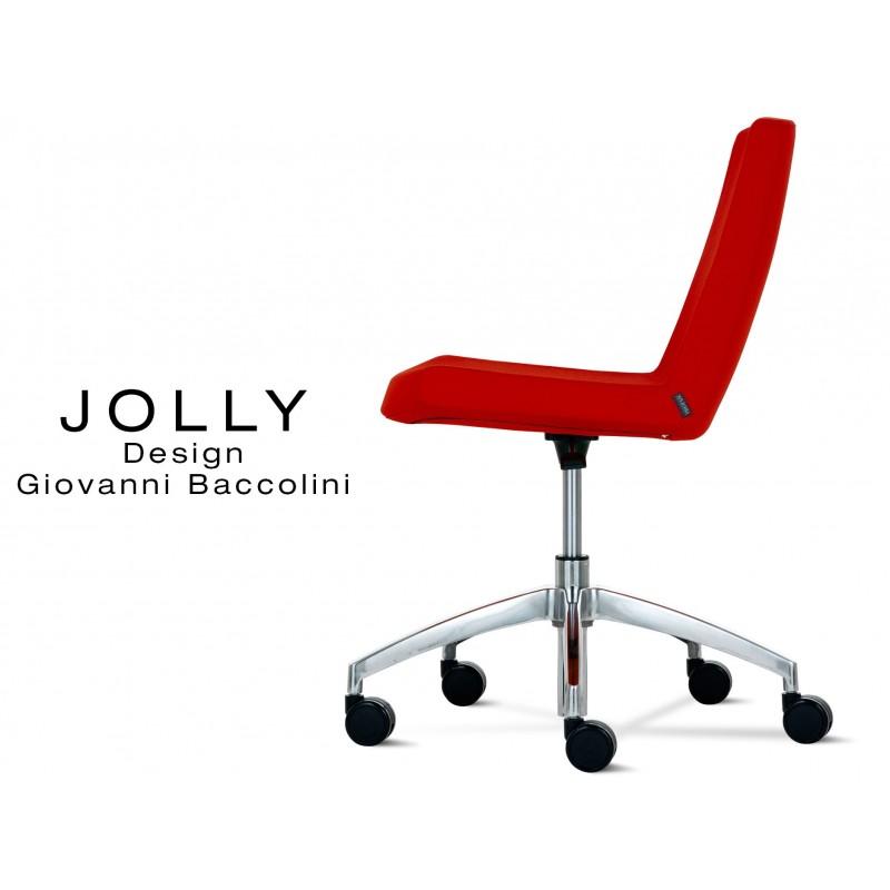 AluminiumAssise De Base Chaise Jolly Bureau Confort Et Roulette thrCxsQd