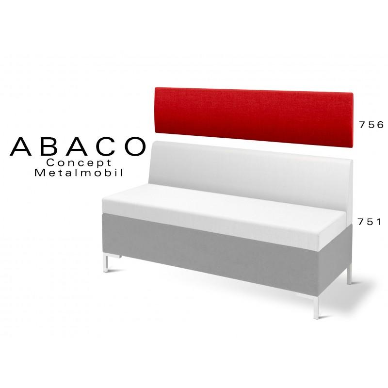 ABACO 756 - Module revêtement mural rouge pour banquette réf.: 751