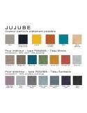 JUJUBE chaise design palette finition peinture époxy pour extérieur au choix.