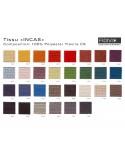 """Fauteuil ARCA habillage 100% polyester tissu """"Incas"""" couleur au choix."""