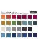 """Fauteuil ARCA habillage 100% polyester tissu """"King L Kat"""" couleur au choix."""