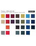 "Fauteuil ARCA habillage 100% polyester tissu ""Relax-B"" couleur au choix."