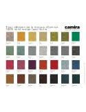 """Fauteuil ARCA gamme couleur disponible, habillage 100% laine tissu """"Blazer"""" du fabriacant """"Carima"""" au choix."""