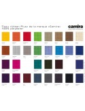 """Banc d'attente 4 places - ADN finition tissu """"Urban-Plus"""" 100% polyester, couleur au choix."""