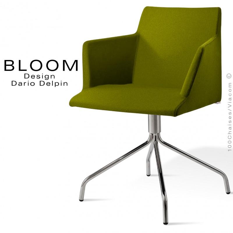 Confort Fauteuil Et BloomPieds BranchesAcier ChroméAssise 4 DH9W2IE