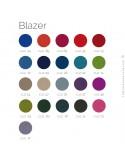 Autre revêtement tissu BLAZER pour fauteuil design HIRO, couleur au choix sur demande.