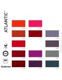 Collection tissu Atlantic du fabricant Gabriel pour collectivités, 100% polyester, couleur au choix.