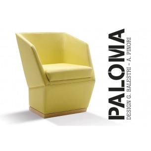 PALOMA-Cuir, gamme T1/313 (éco-cuir), finition bois voir gamme.