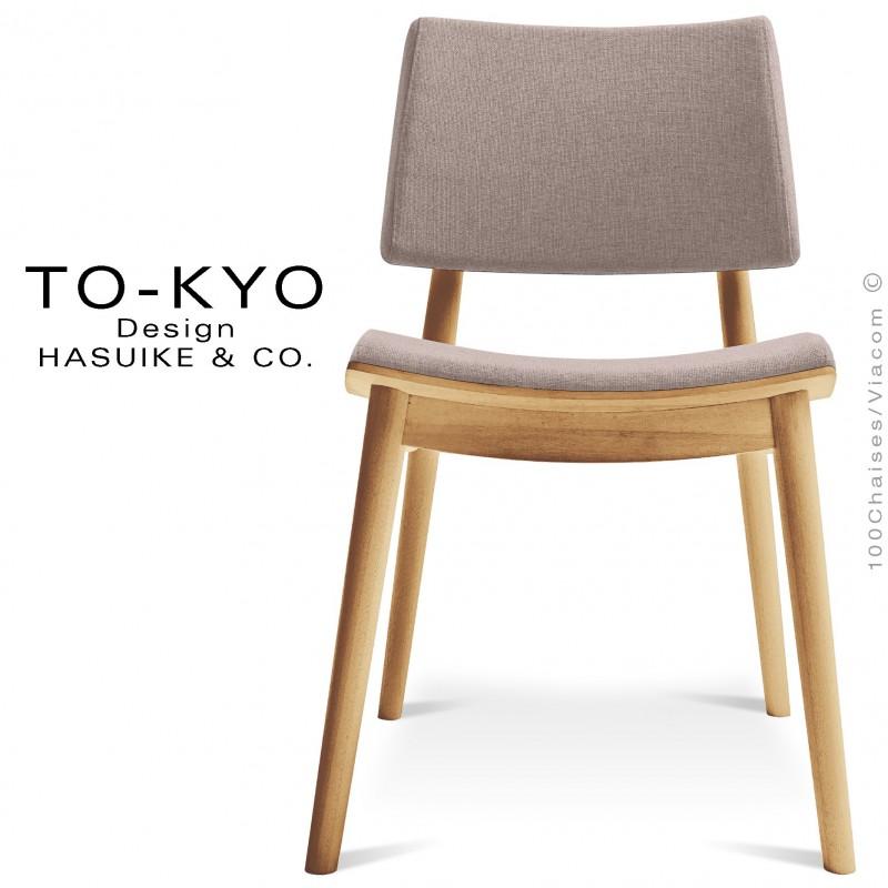 chaise pour salle de restaurant to kyo structure bois. Black Bedroom Furniture Sets. Home Design Ideas
