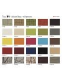 VIP Fauteuil - Habillage gamme tissus T1 au choix.