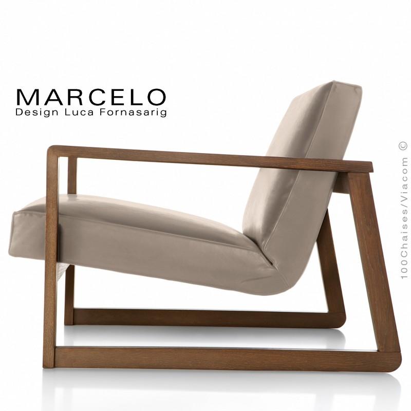 fauteuil lounge pour salon ou lieu d 39 attente marcelo. Black Bedroom Furniture Sets. Home Design Ideas