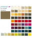 Collection cuir naturel gamme Aliseo du fabricant PENELOPEOGGI, pour fauteuil lounge MARCELO