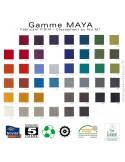 Collection tissu MAYA, 100% Trevira CD, du fabricant FIDIVI, couleur au choix.
