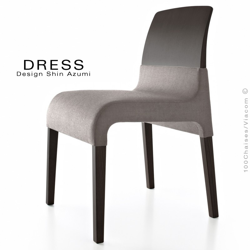 chaise de restaurant dress structure bois assise. Black Bedroom Furniture Sets. Home Design Ideas