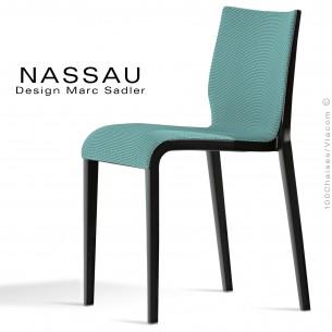 Gamme habillage tissu ou aspect cuir pour chaise NASSAU vos demandes à commandes@100chaises.fr