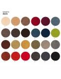 Palette tissu Sawana du fabricant DAVIS pour l'habillage du fauteuil UNI-KA, couleurs aux choix