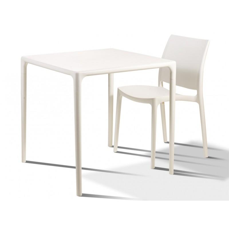 Chaise Poly Pour Terrasse CaféStructure Couleur Plastique De KclJF1