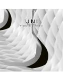 Détail finition assise coque chaise design UNI.