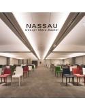 Chaise NASSAU en situation, salle de réunion, hôtel, conférence, mobilier d'intérieur ou d'extérieur.