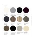 Finition couleur plateau compact