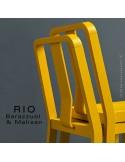 Chaise RIO, en bois de frêne peinte
