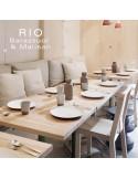 Chaise RIO, en bois de frêne