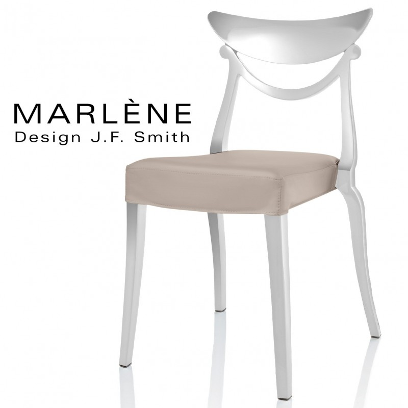 chaise design marl ne structure plastique assise. Black Bedroom Furniture Sets. Home Design Ideas