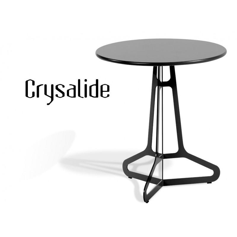 Bien-aimé Table ronde design CRYSALIDE - Cuisine, bar, bistrot, café FS74