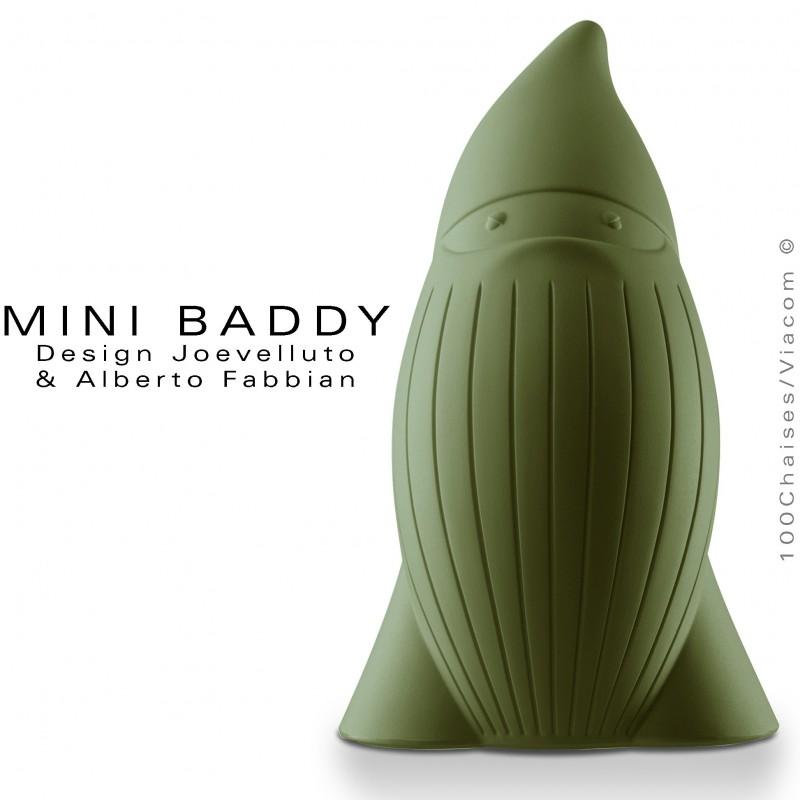 Nain de jardin BADDY MINI statuette déco - Lot de 5 pièces