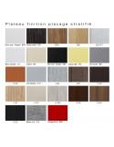 Palette placage stratifié pour assise tabouret ARTY au choix.