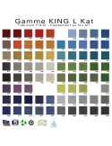 Palette tissu couleur tissu King-L du fabricant FIDIVI au choix.