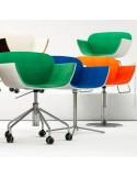 Collection gamme fauteuil SURI piétement au choix.