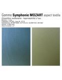 Tabouret WELCOME, aspect tissus Symphony Mozart, détail gros plan.