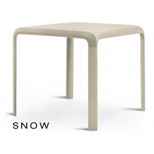 SNOW table pour terrasse, couleur sable (lot de 6 tables).