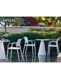 IKON table design conique (lot de 3 tables).
