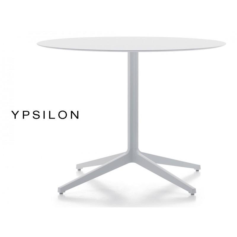 YPSILON table pour bar ronde (lot de 3 tables).