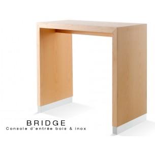 BRIDGE - 108 table console pour halle d'entrée