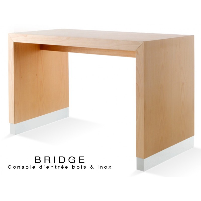 BRIDGE - 77 table console pour halle d'entrée