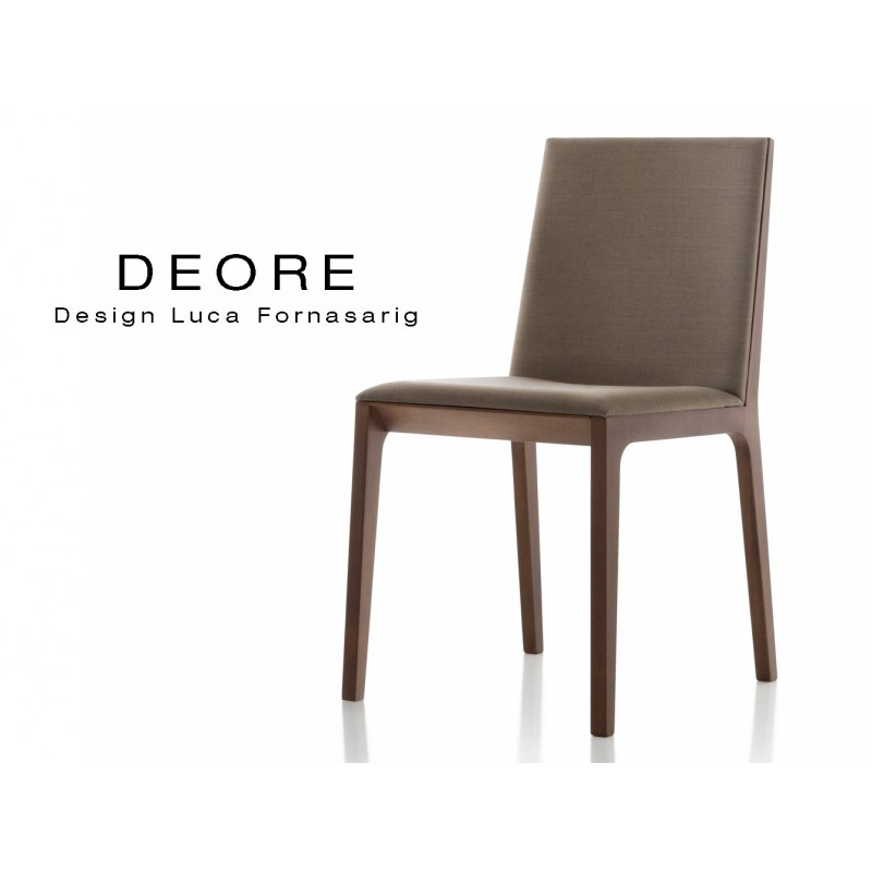 Bois Chaise Deore Et VernisAssise Piétement Finition Design 0vmw8Nn