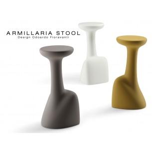 ARMILLARIA tabouret design pour terrasse et jardin