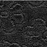 Tissu brodé noir T2/577