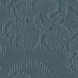 Tissu brodé bleu pétrole T2/579